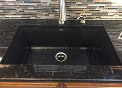 Oklahoma granite kitchen undermount sink - Shawnee Shawnee