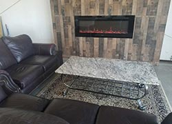 Our lounge area for our customers The Granite Shop OK